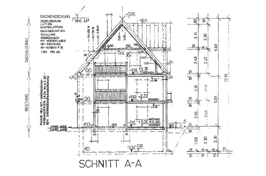Planungsb ro karl ebert for Bauplan zweifamilienhaus